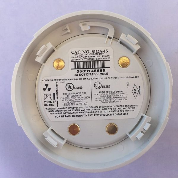 EST SIGA-IS Ionization Smoke Detector (Reconditioned)