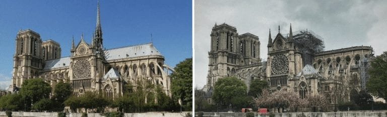 Notre Dame blaze: fire experts on safeguarding heritage sites